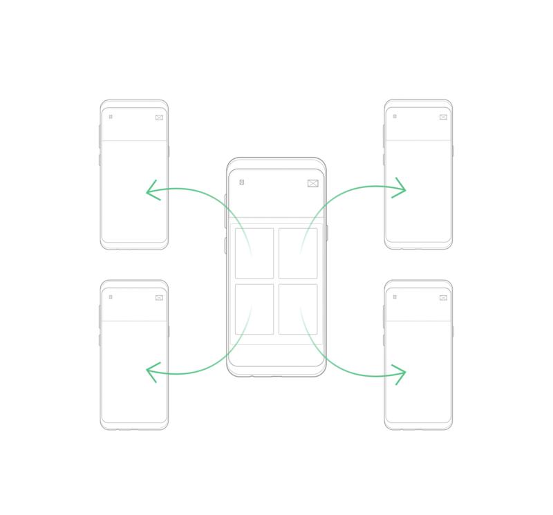 hub mobile app ia