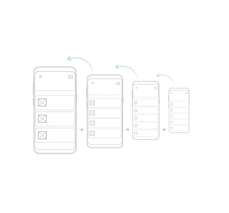 nested doll of mobile app