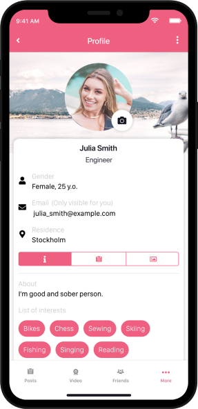 App development project - Joyclean phone mockup solutions
